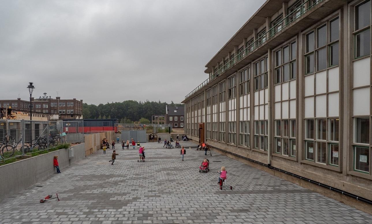 ENKA Ede Kantinegebouw - school de Ontdekking - Foto BOEi (Jan van Dalen)