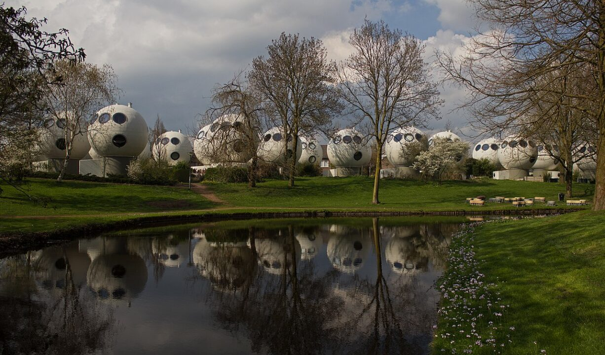 Bolwoningen in Den Bosch