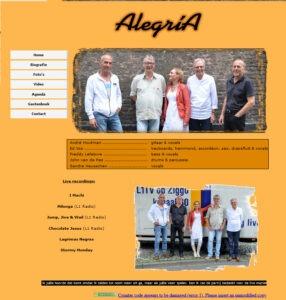 Bankastudios Alegria website