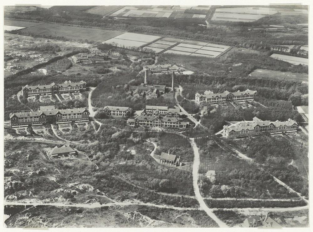 Duin en Bosch Castricum luchtfoto