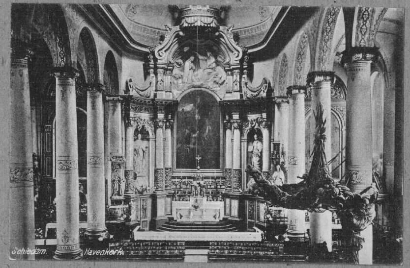 Havenkerk Schiedam 1910
