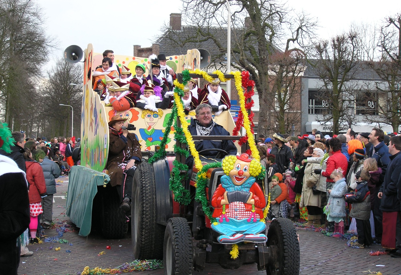 Carnaval en andere evenementen in Huize Vincentius