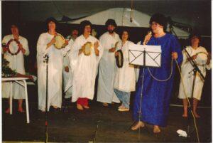 Cabaret tijdens het Midzomerfeest, Vincentius, 1984