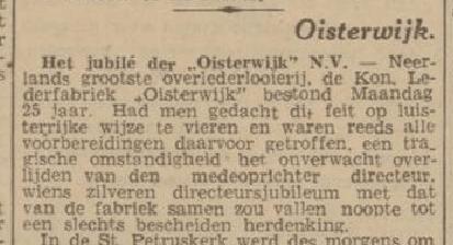 Dagblad van het Noorden 29 oktober 1941. Bron: Delpher