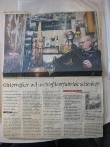 Brabants Dagblad 3 januari 2006